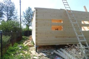 Ровный угол стен 90 градусов обеспечивает долговечность строения