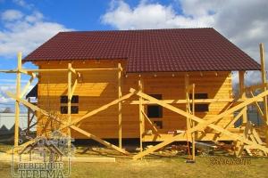 Солидный дачный дом, также подходит для постоянного проживания
