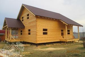 Уютный внутри и солидный снаружи дом, по проекту ДН-80