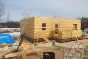 Этот дом строится по проекту ДН-82 из нашего каталога проектов