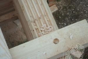 Кпепёж деревянный нагель