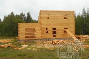 Продолжается обустройство семейного загородного дома