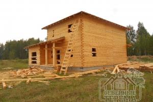 Дом готов! Здание не только выглядит эстетично, но еще и надежно. Строительство прошло в соответствии со всеми стандартами.