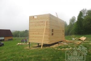 Заказчик создал проект брусового дома, создайте и Вы!