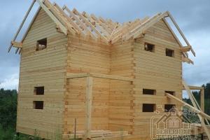 Проект деревянного дома в реальности