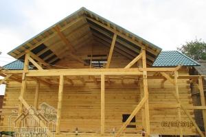 Деревянный дом из бруса от компании