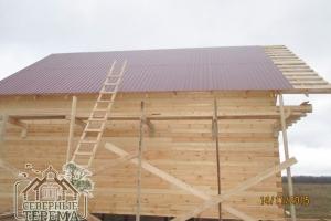 Крыша из профнастила - это достойное качество и внешний вид за разумные деньги