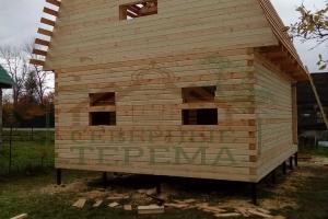 Недорогой дом из профилированного бруса