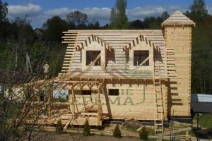 Дом из бруса построить