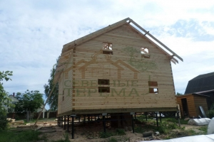 Стропила на доме 50х200 мм