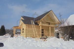 Брусовой дом во Владимирской области