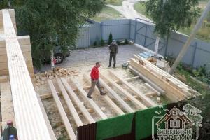 Дополнительная обработка бруса для сборки стен 2 этажа