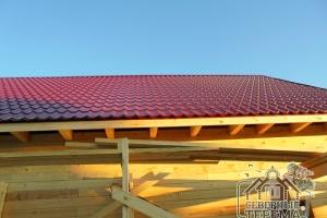Покрытая крыша