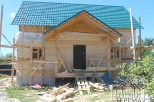 Утепление и обшивка фасадной части дома