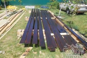 Металлические полосы для углов дома