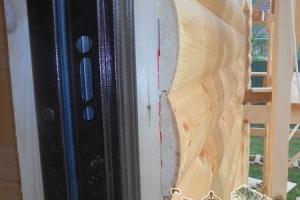 Крепление деревянного сайдинга