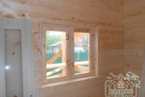 Вот такие красивые и теплоизолированные окна мы устанавливаем
