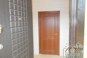 На этом чистовая внутренняя отделка двухэтажного дома из профилированного бруса закончена!