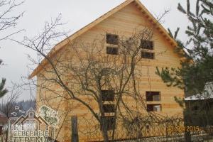 Дом из профилированного бруса 7 на 8