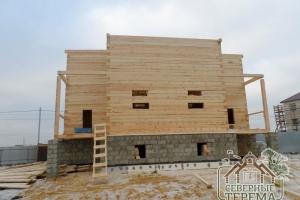 Возведение дома из бруса