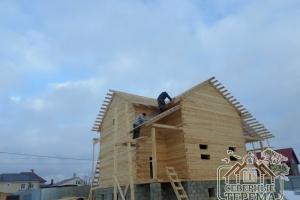 Крыша на 4 фронтона