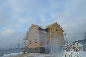 Выравнивание крыши