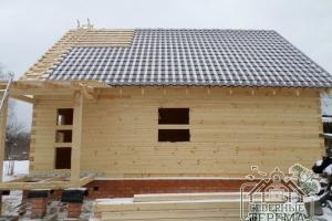 Стоимость покрытия крыши  рассчитывается из площади крыши
