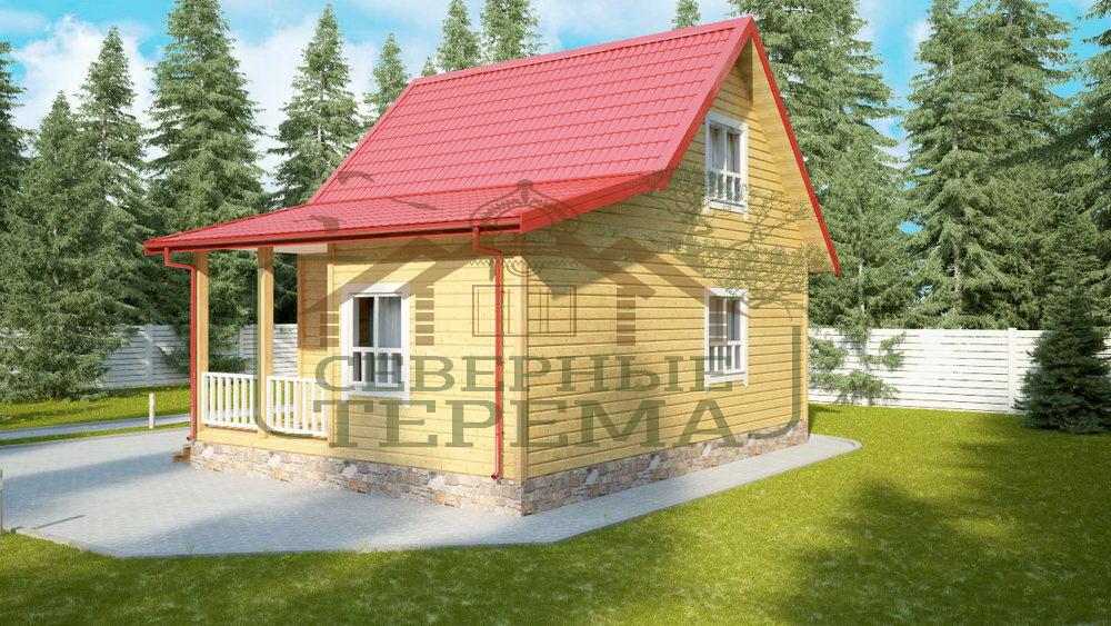 Строительство деревянных дачных домов во Владимире
