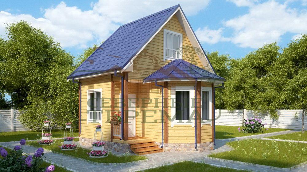 Калькулятор расчета стоимости строительства дома из бруса