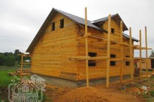 Дом 8х9 крытый металлочерепицей