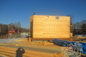 По Договору подъем стен второго этажа может быть уменьшен или увеличен