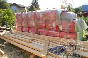 Вот так хранятся необходимые строительные материалы.