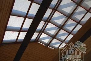 Мы уже произвели гидропароизоляцию крыши