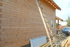Монтаж окон и крыши производится по вашему желанию