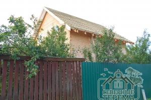 Строительство такого брусового дома занимает от 2-х до 3-х недель