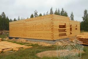 Строительство по нашему проекту дома ДН-91