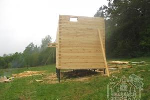Строительство дома из бруса 150х200мм