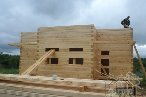 Активное строительство верхнего этажа проекта ДН-92