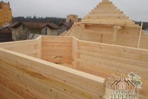Строить можно не только прямоугольные комнаты, но и оригинальной формы