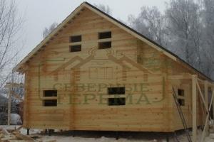 Дом построенный компанией