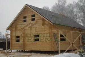Дом из профилированного бруса от sevterema.test