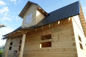 Дом из проф бруса 6х9 м