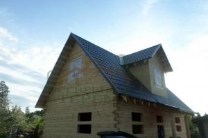 Дом с мансардным этажом 6х9