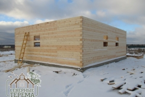 Мы готовы построить дом из выбранного материала по присланному проекту