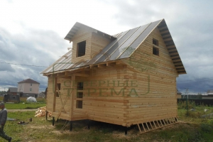 Брусовой дом в Твери