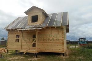 Строительство дома с мансардой в Твери
