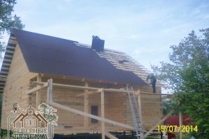Стоимость покрытия рассчитывается из площади крыши