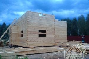 Строительство дома согласно утвержденному проекту