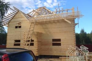 Установка обрешетки крыши