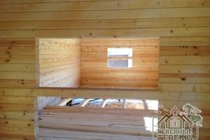 Вентиляция для проветривания дома при усадке обеспечена в полном объеме